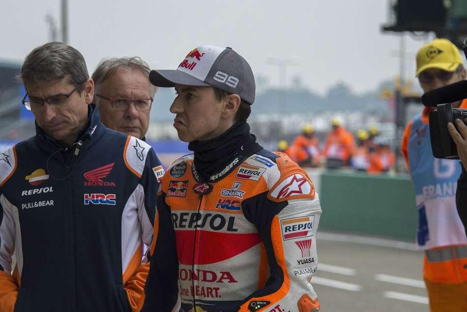 Motogp Jorge Lorenzo Struggling Italian Grand Prix