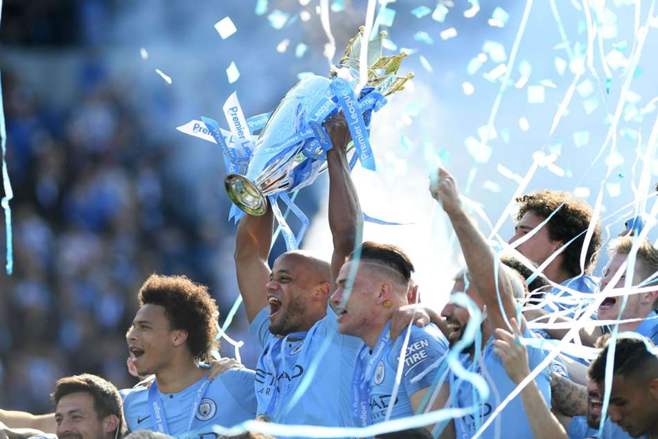 Manchester City Treble Pep Guardiola Best Team Of The Premier League Era