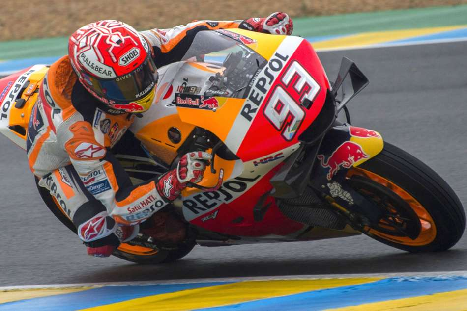 Motogp Raceweek Marquez Masters Le Mans To Make It Three Wins In Four
