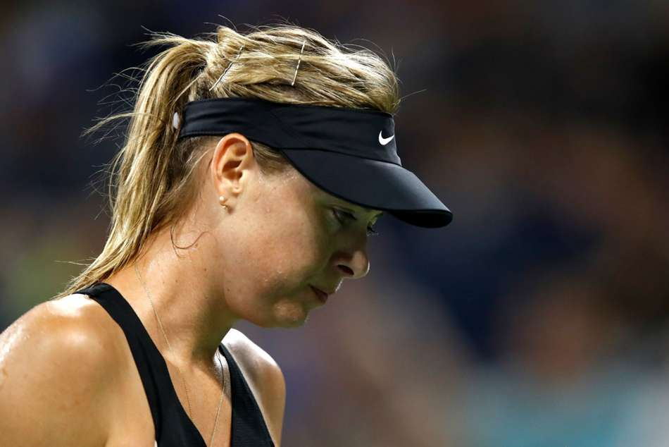 Maria Sharapova is still recovering from a shoulder injury she picked up in January