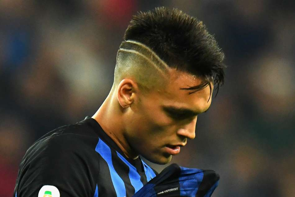 Inters Lautaro Martinez offered little by way of goal threat for the second game running