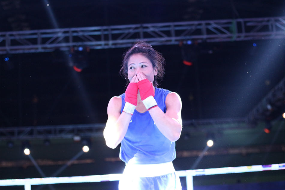 Mary Kom beats Nikhat Zareen; Sachin upsets Solanki to enter final of India Open