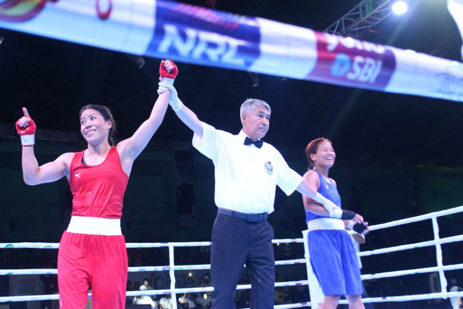 Mary Kom, Nikhat Zareen to meet in semis after confirming medals at India Open