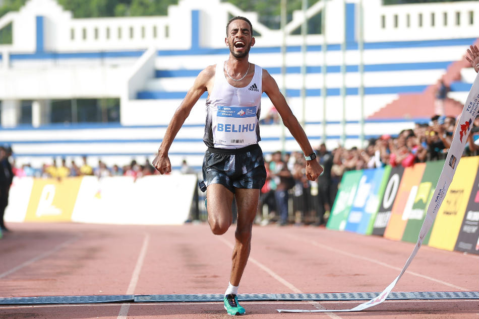 Ethiopia S Belihu Wins Tcs World 10k Run Kenya S Tirop Defends Women S Title