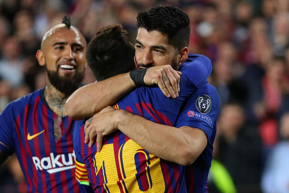 Barcelona Rest Lionel Messi Luis Suarez Celta Vigo Liverpool Champions League Second Leg
