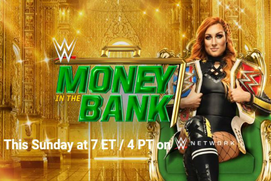 Wwe Money In The Bank 2019 Match Card With Predictions