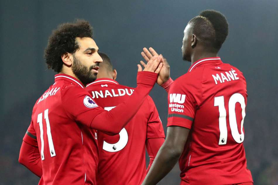 Salah Shares Golden Boot With Mane And Aubameyang