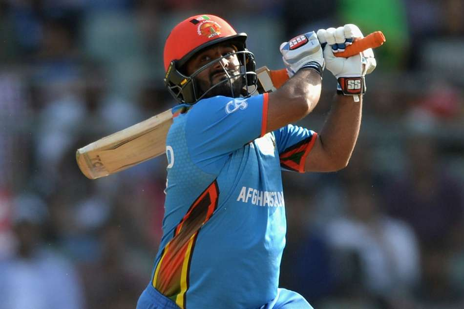 Afghanistan opener Mohammad Shahzad smashed a 88-ball hundred
