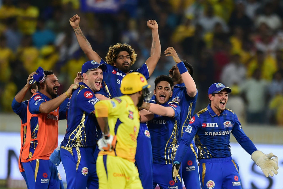 Ipl 2019 Final Mumbai Indians Vs Chennai Super Kings Live Updates Hyderabad