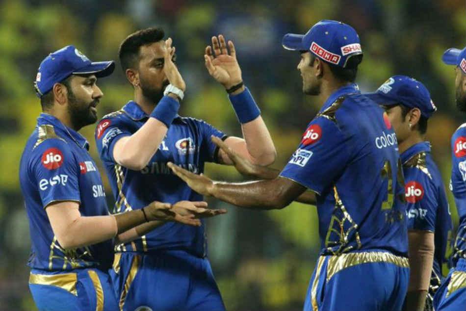 Image result for mumbai indians vs chennai super kings 2019