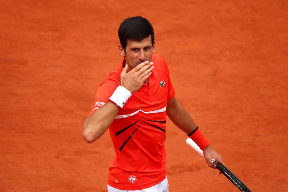 French Open Novak Djokovic Sails Dominic Thiem Alexander Bublik Underarm