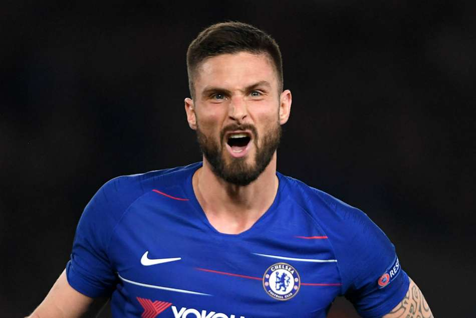 My blood is blue - Giroud relishing facing Arsenal in Europa League final