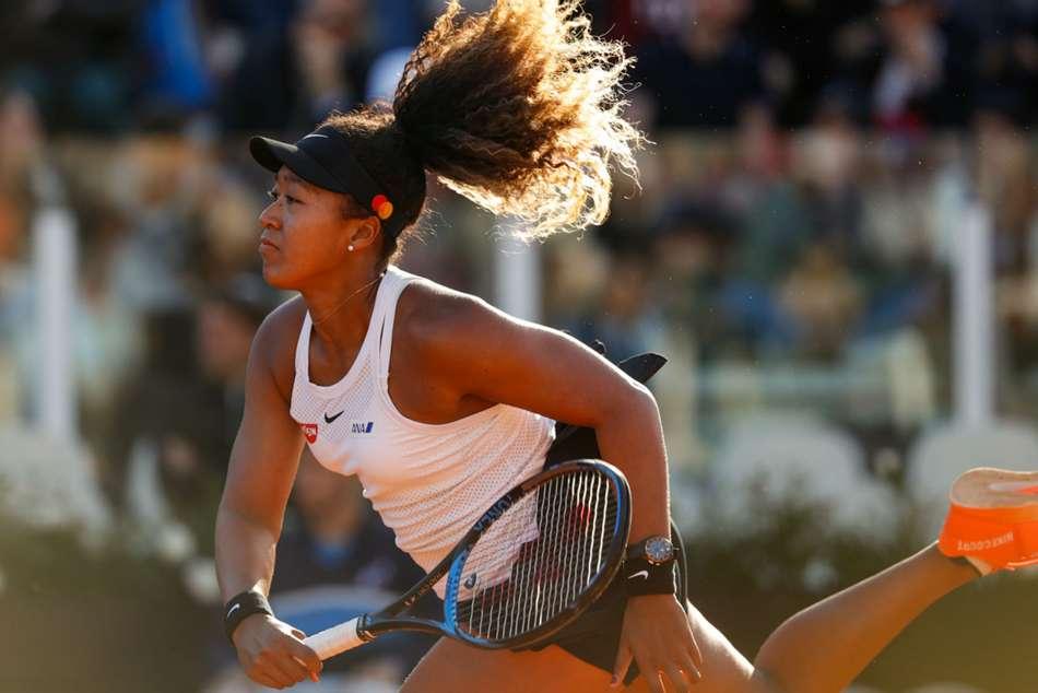 Internazionali Ditalia Simona Halep Injury Naomi Osaka Wins