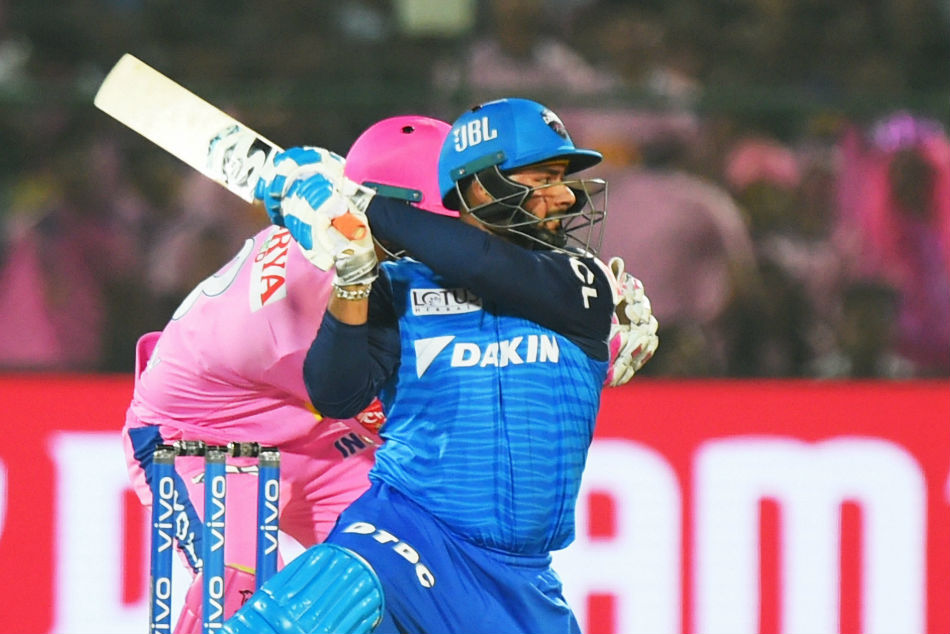 Rishabh Pant remained unbeaten on a 38-ball 53 for Delhi Capitals