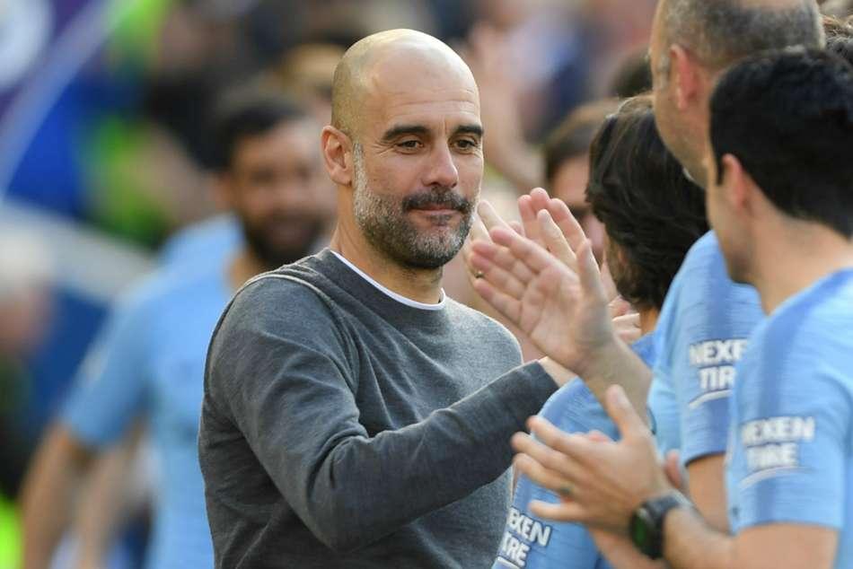 Pep Guardiola Premier League Manager Season Manchester City