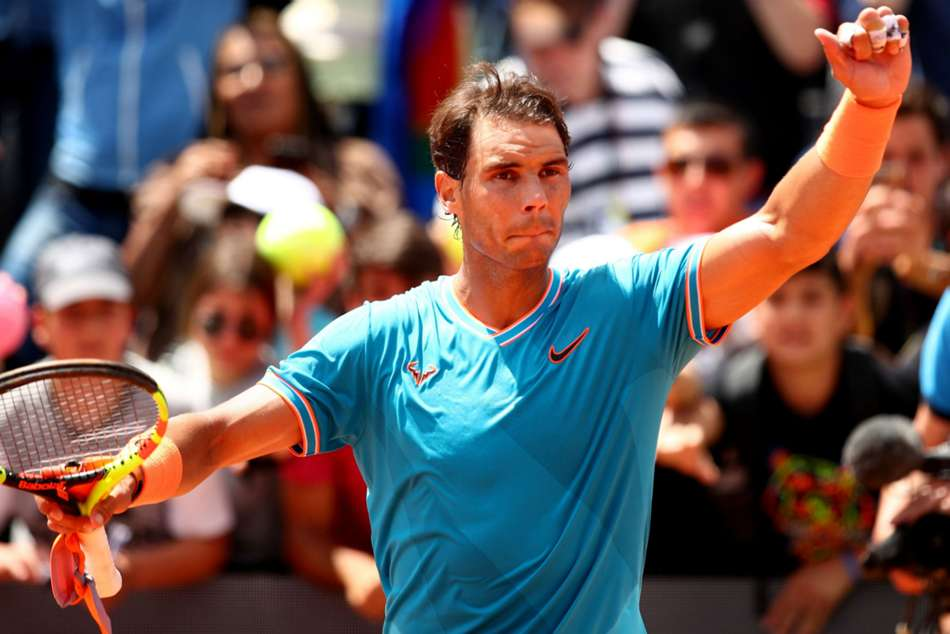 Rafael Nadal Ousts Fernando Verdasco To Reach Rome Semi Finals