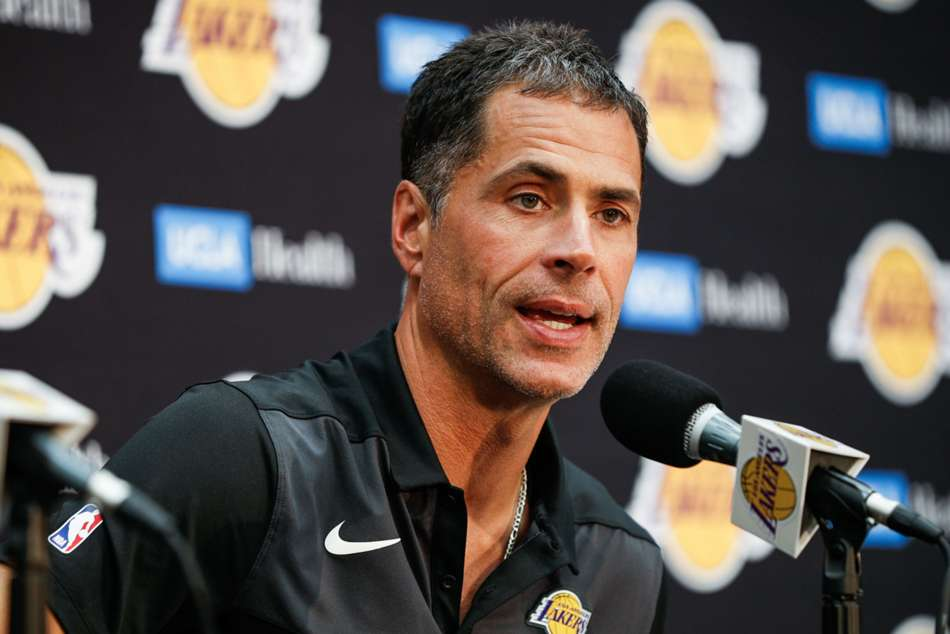 Lakers Have Opportunity Win Championship Possibly Next Year Rob Pelinka Says