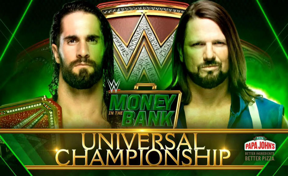 universal sweepstakes wwe potential spoiler from seth rollins vs aj styles title 413