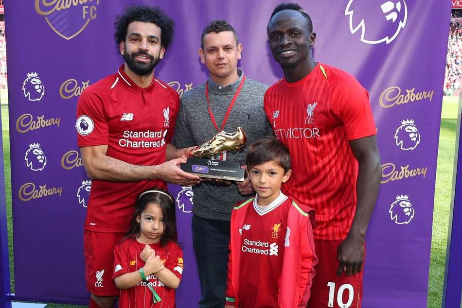 Liverpool Salah Enjoys Premier League Golden Boot Win