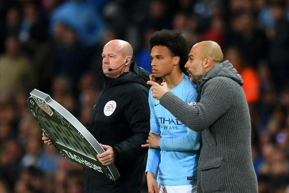 Pep Guardiola Aims To Keep Leroy Sane At Manchester City
