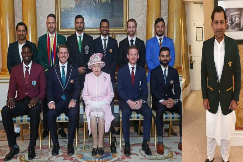 Pakistan Sarfaraz Ahmed S Salwar Kamiz Was A Perfect Statement On British Soil World Cup