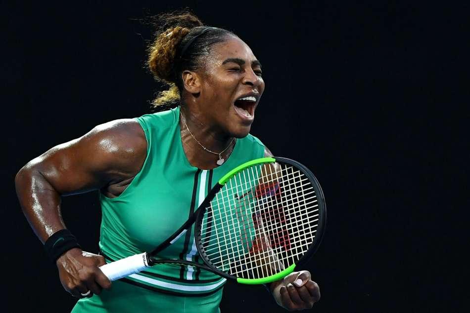 Serena Williams Rebecca Peterson Wta Rome Internazionali Ditalia