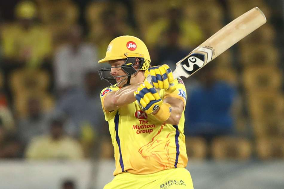 Shane Watson Ipl Final Stitches Chennai Super Kings