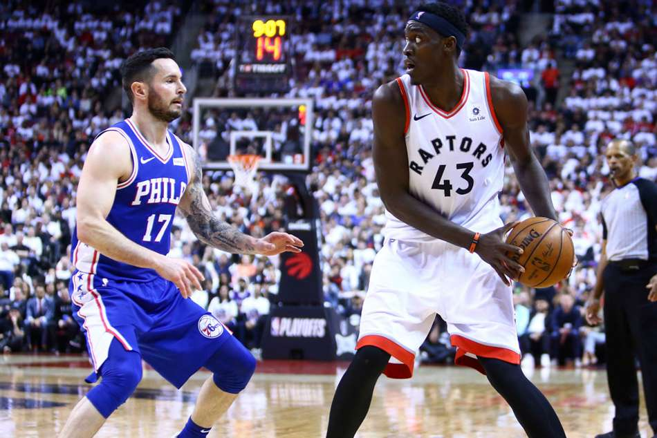 Pascal Siakam stole the show for Toronto Raptors
