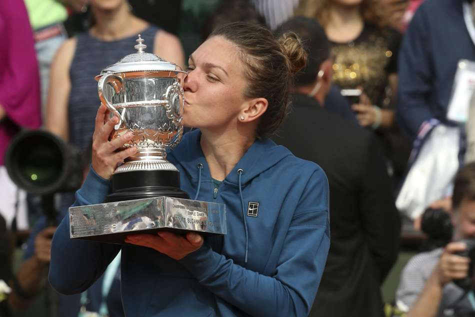 Simona Halep Unconcerned French Open Challengers