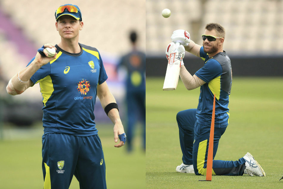 Australia duo Smith and Warner were given a torrid time by the Southampton crowd