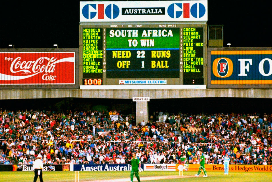 When South Africa Was Packed Off By A Bizarre Rain Rule