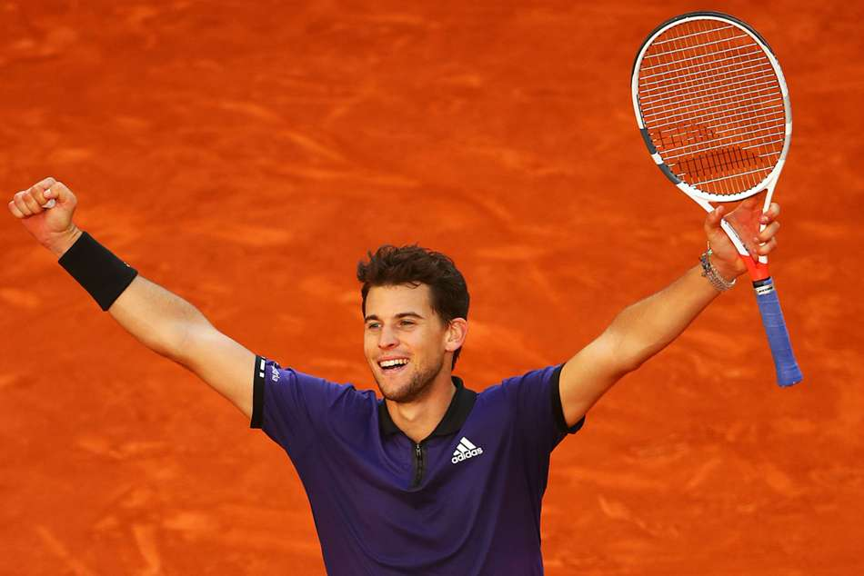 Madrid Open Dominic Thiem Beats Roger Federer Faces Novak Djokovic Rafael Nadal Wins