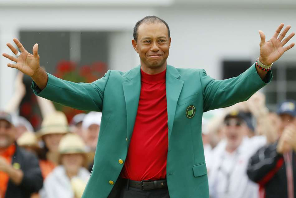 Us Pga Championship Tiger Woods Wins Masters Jack Nicklaus Major Record