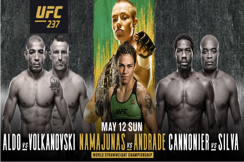 Ufc 237 Namajunas Vs Andrade Preview Schedule And Fight Card