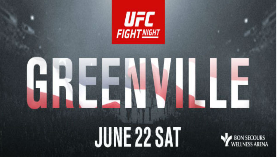 Ufc To Visit South Carolina For The First Time On June