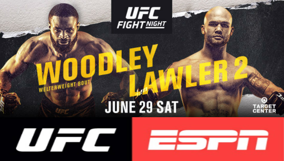 Tyron Woodley meets Robbie Lawler in UFC Minneapolis headliner