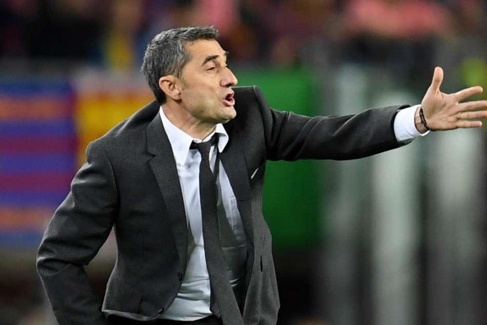 Barcelona Liverpool Ernesto Valverde Roma Champions League