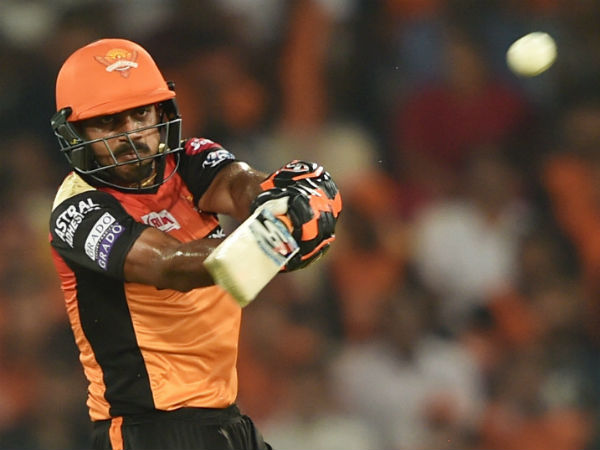 4. Vijay Shankar (Sunrisers Hyderabad)