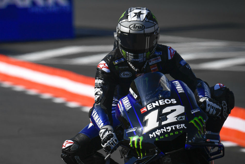 Vinales Fights Off Marquez To Go Fastest In France