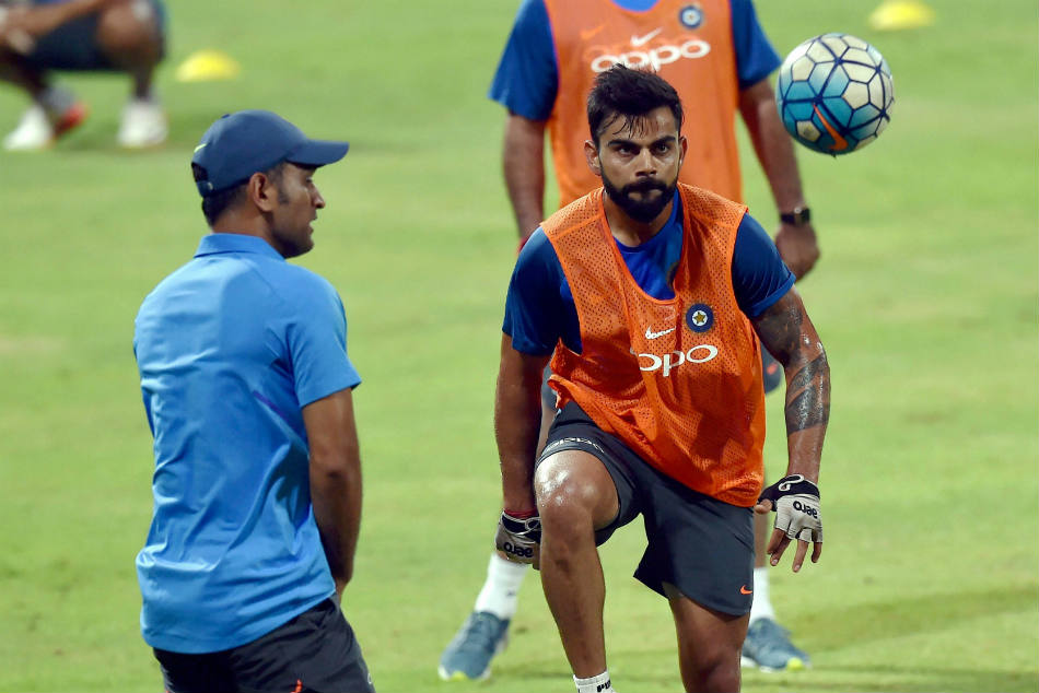 Icc Cricket World Cup 2019 Priceless Ms Dhoni Gives Me The Freedom India Captain Virat Kohli