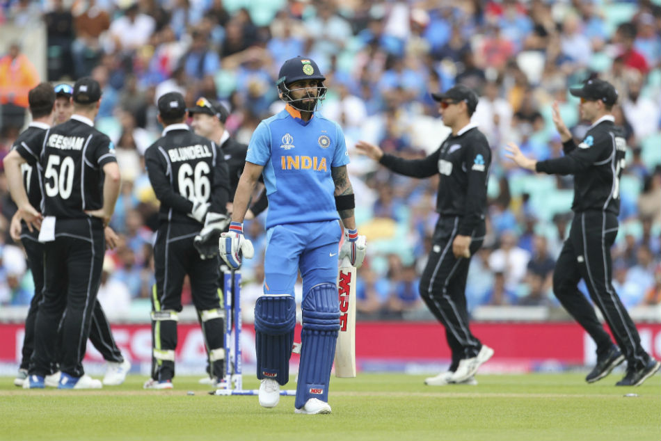 Icc World Cup Head To Head India Trail 3 4 Against New Zealand