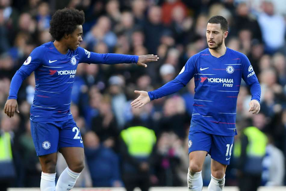 Chelsea Willian Sad Eden Hazard Leave