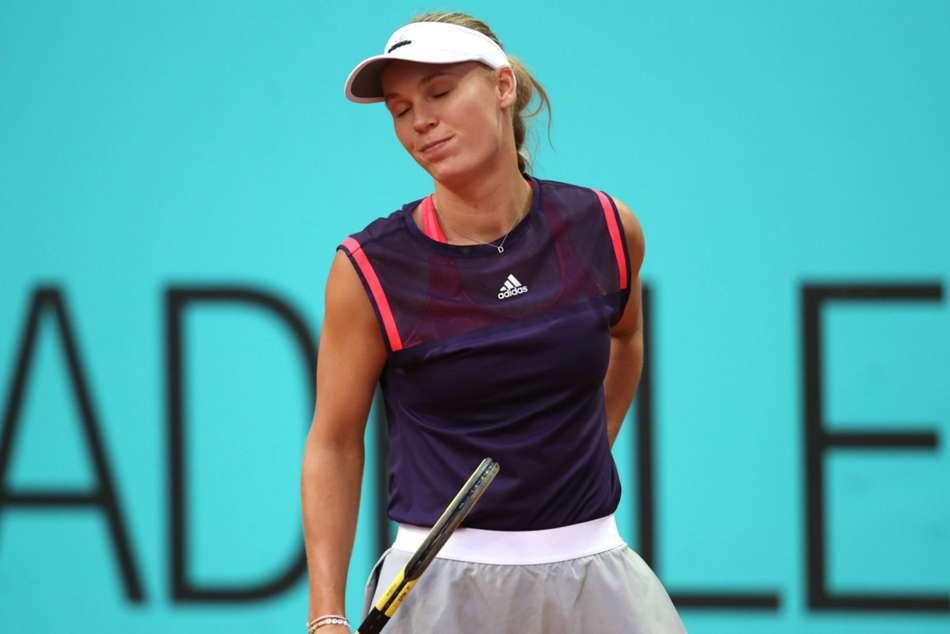 Elina Svitolina Pauline Parmentier Madrid Open Caroline Wozniacki Retires Naomi Osaka Wins