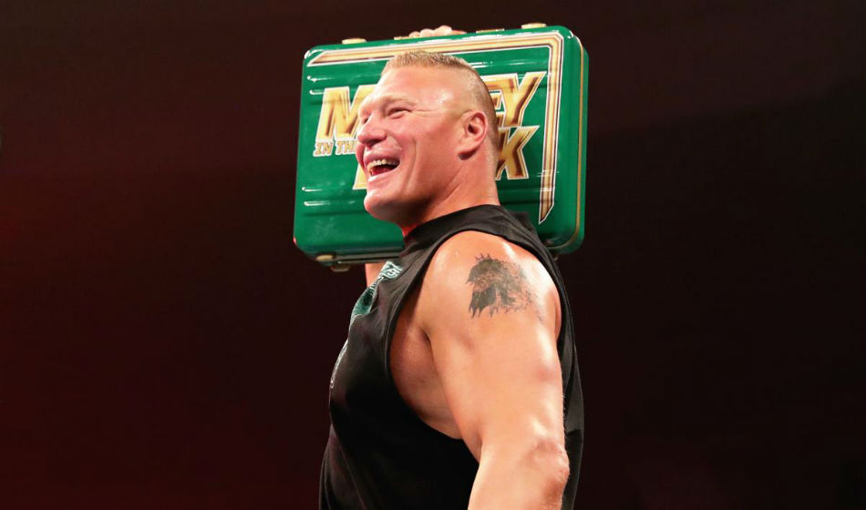 When Will Brock Lesnar Cash In On Wwe Money In The Bank Contract