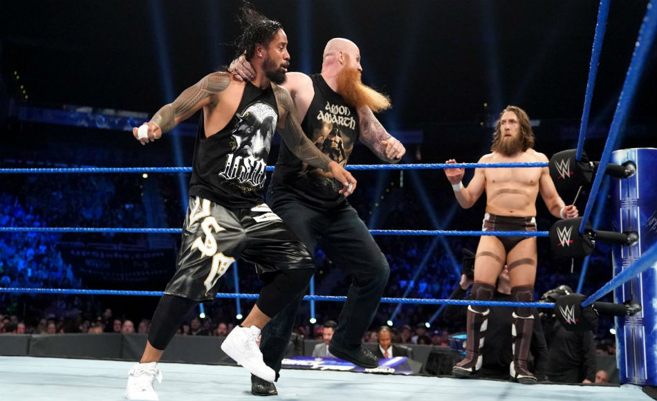 Daniel Bryan And Rowan Crowned New Wwe Smackdown Tag Team Champions