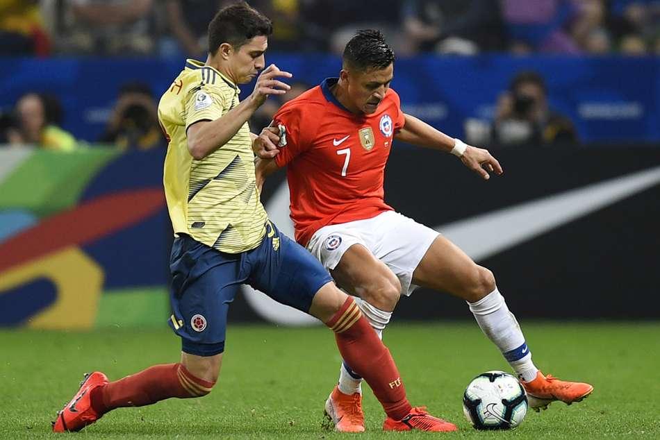 Colombia Chile Penalties Sanchez Defending Champions