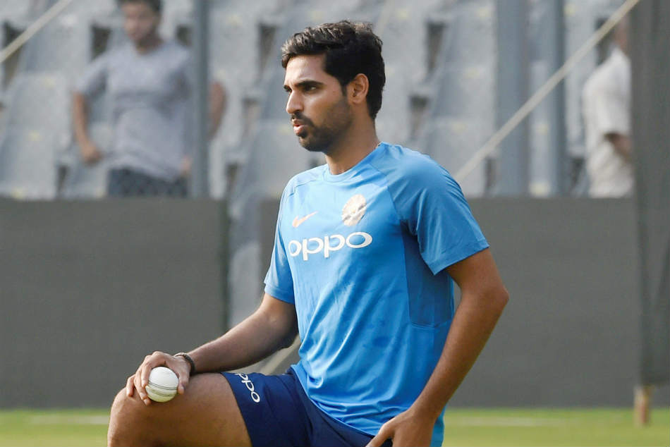As of now, Bhuvneshwar Kumar is out for a couple of games