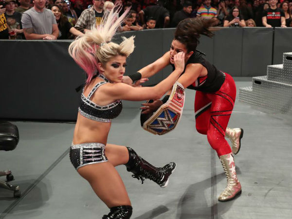 "Alexa hosts Bayley on ""A Moment of Bliss"""