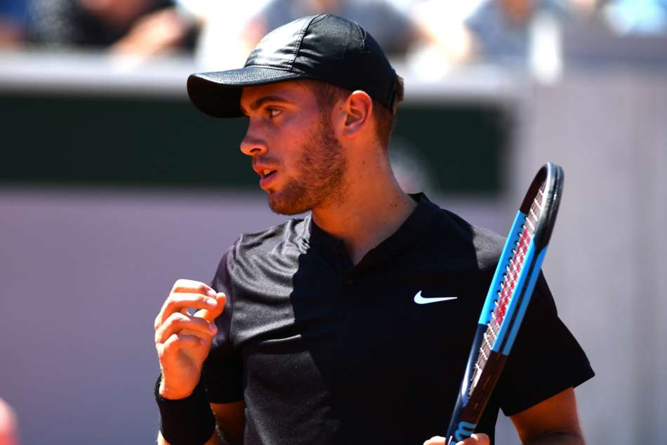 Borna Coric won 7-6 (7-4) 5-7 7-6 (7-4) against Portuguese qualifier Joao Sousa
