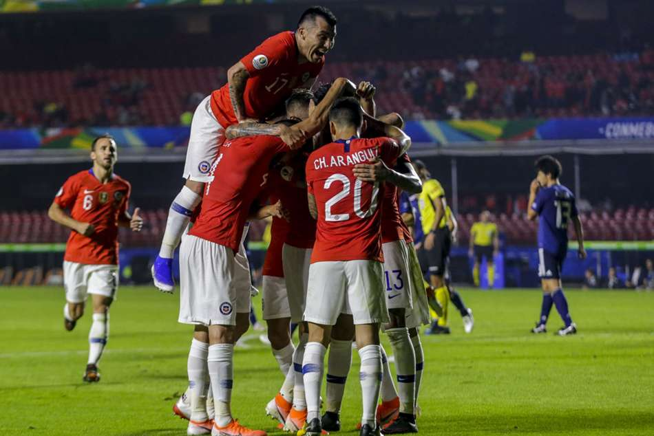 Chile begin Copa America defence with impressive win over Japan